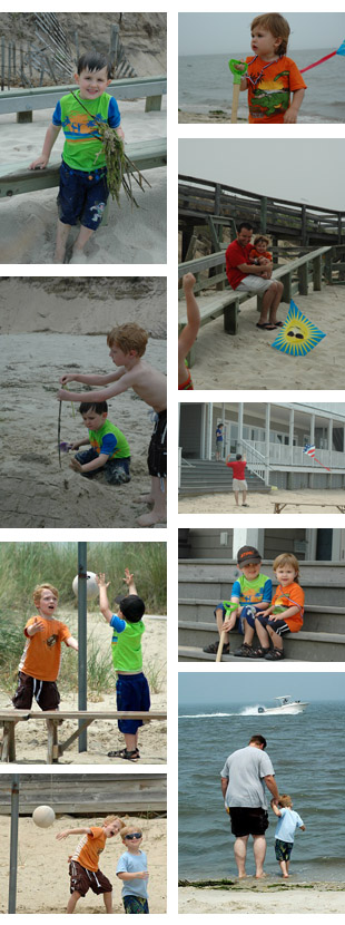 beach 2011 collage 2